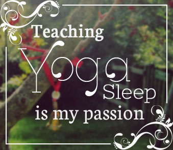 Teaching Yoga Sleep is my passion - Julie Bladon