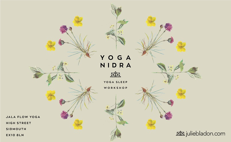 New yoga nidra designs for 2018 julie bladon my designer niaski has produced a beautiful range of flyers and business cards for my 2018 yoga nidra workshops reheart Gallery