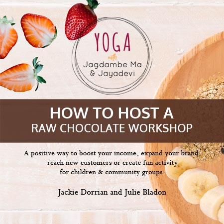 How to host a raw chocolate workshop ebook